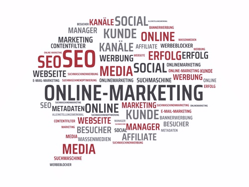 Onlinemarketing, SEO, Website, Kanäle, Facebook u.s.w.