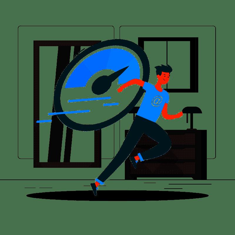 Optimierte Webseiten - schnelle Ladezeiten