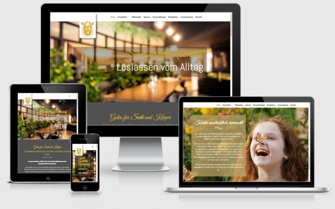 Website Gaststätte