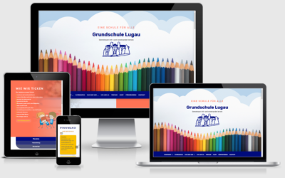 Webseite Grundschule Lugau