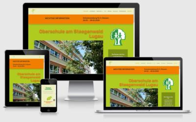 Webseite Oberschule Lugau
