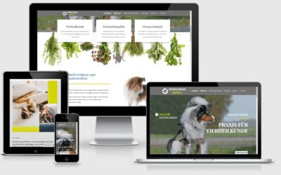 Internetauftritt Tierheilpraxis Bartels