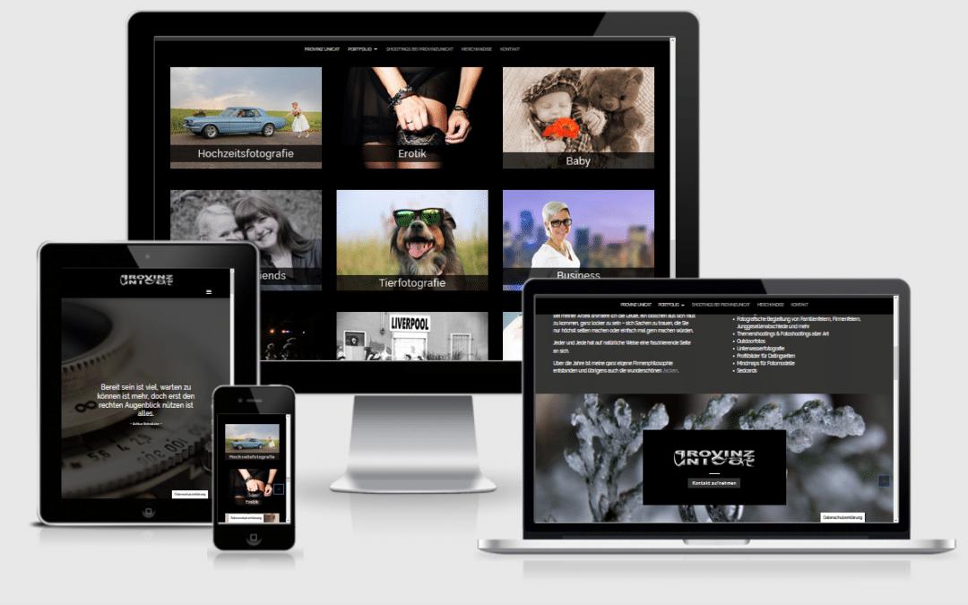 Fotografenwebsite