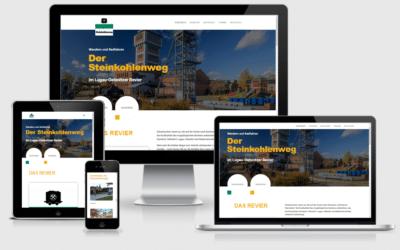 """Infowebseite """"Der Steinkohlenweg"""""""
