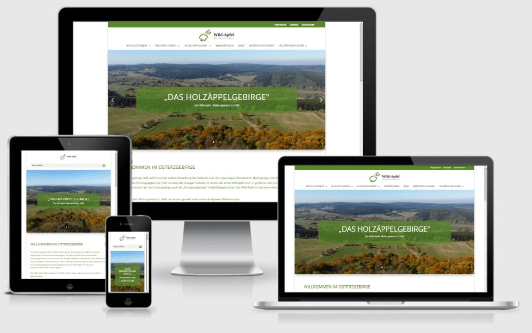 Webseite Grüne Liga