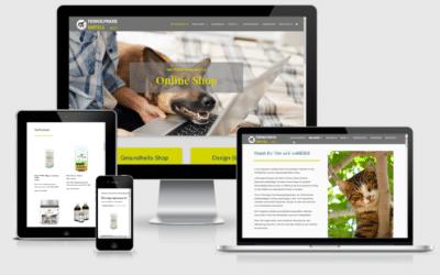 Onlineshop Tierheilpraxis