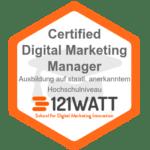 121Watt Zertifikat